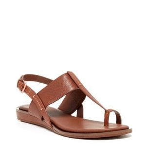 Cole Haan Pelham Sandal Brown Leather Size 6 1/2
